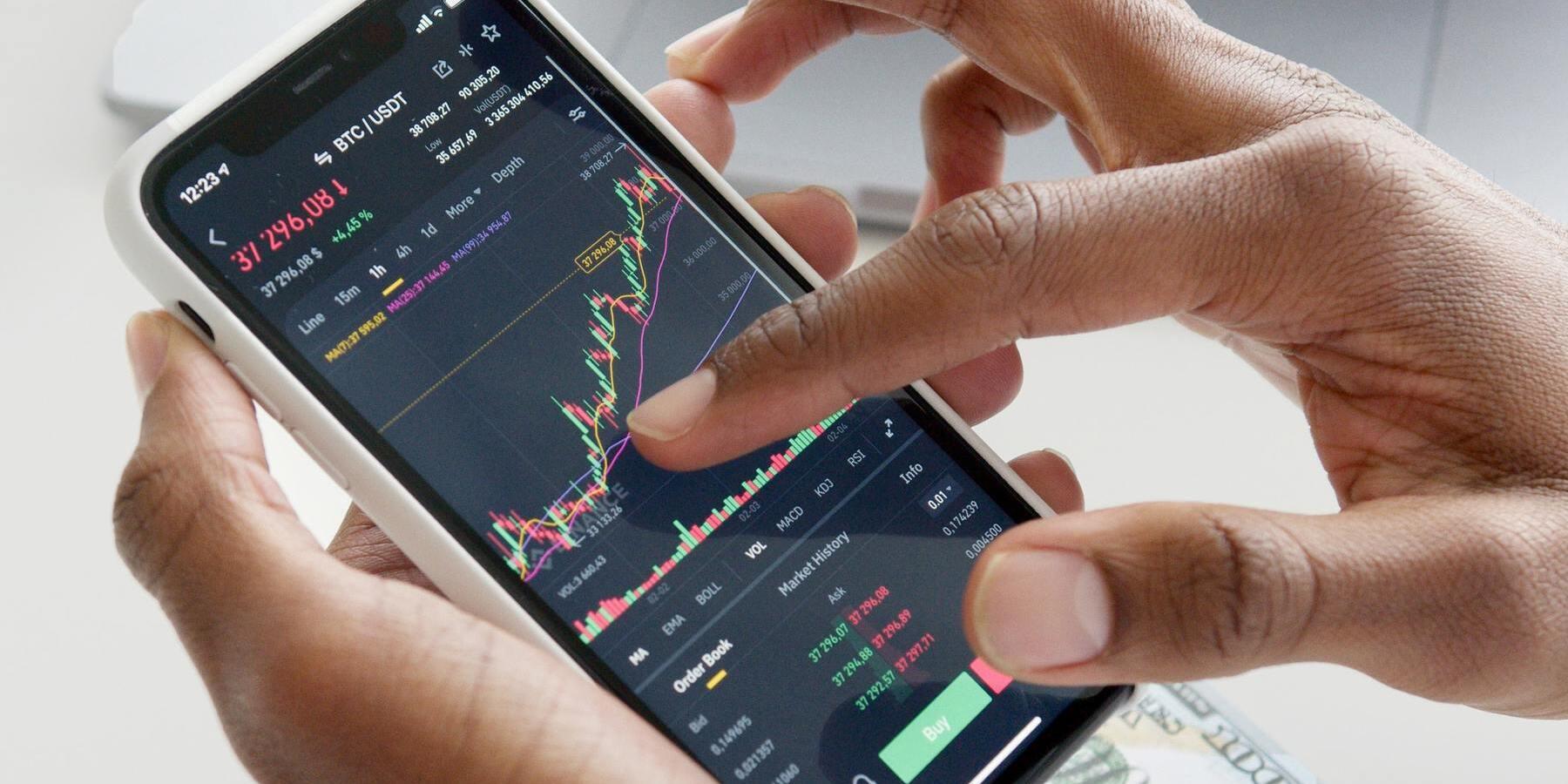 Investieren in Wachstumsaktien - Handy Charts Aktien