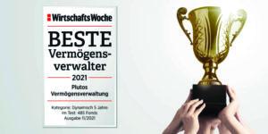 Wirtschaftswoche Award Vermögensverwaltung