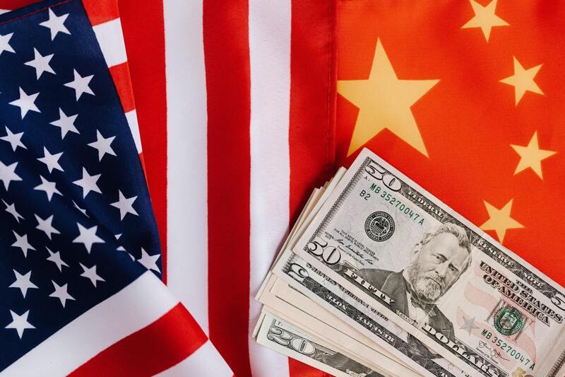 Dax-Ausblick-2021-Flagge-China-und-USA-Rolle-fuer-Deutschland