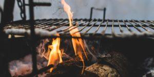 Kursgewinne bei Biontech, Weber Robinhood - Flammen Grill Feuer