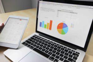 Aktien Streuung - Computer Charts