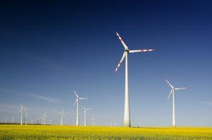 Green Bonds - Windturbinen
