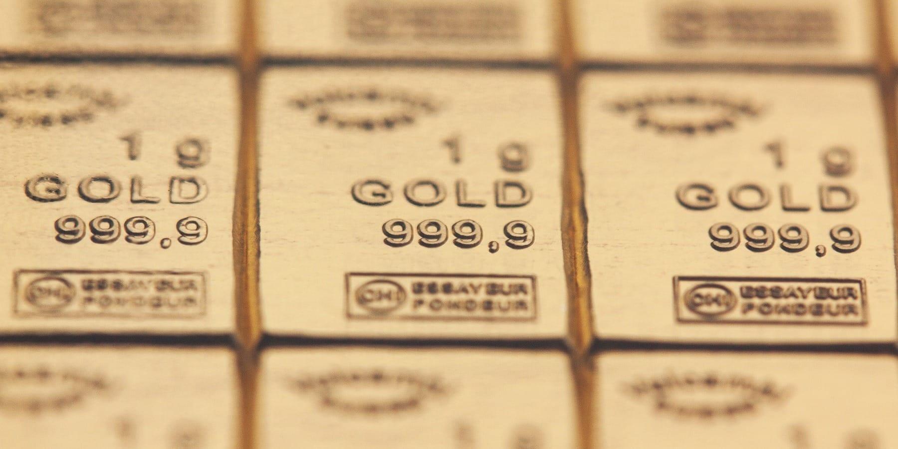 In Edelmetalle Investieren - Bild von Feingold Goldbarren 24 Karat