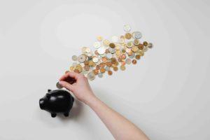 Gold Geld Geldschwein Sparen